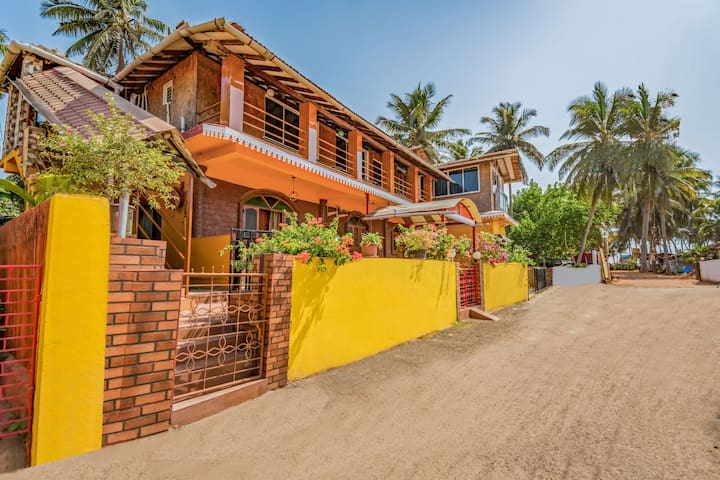Stylish studio apartment, near Anjuna Beach/73916