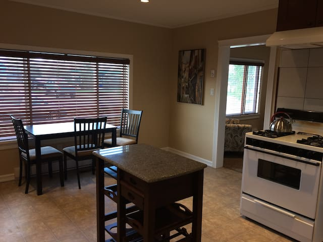 Luxury main floor - walk to hospital and downtown