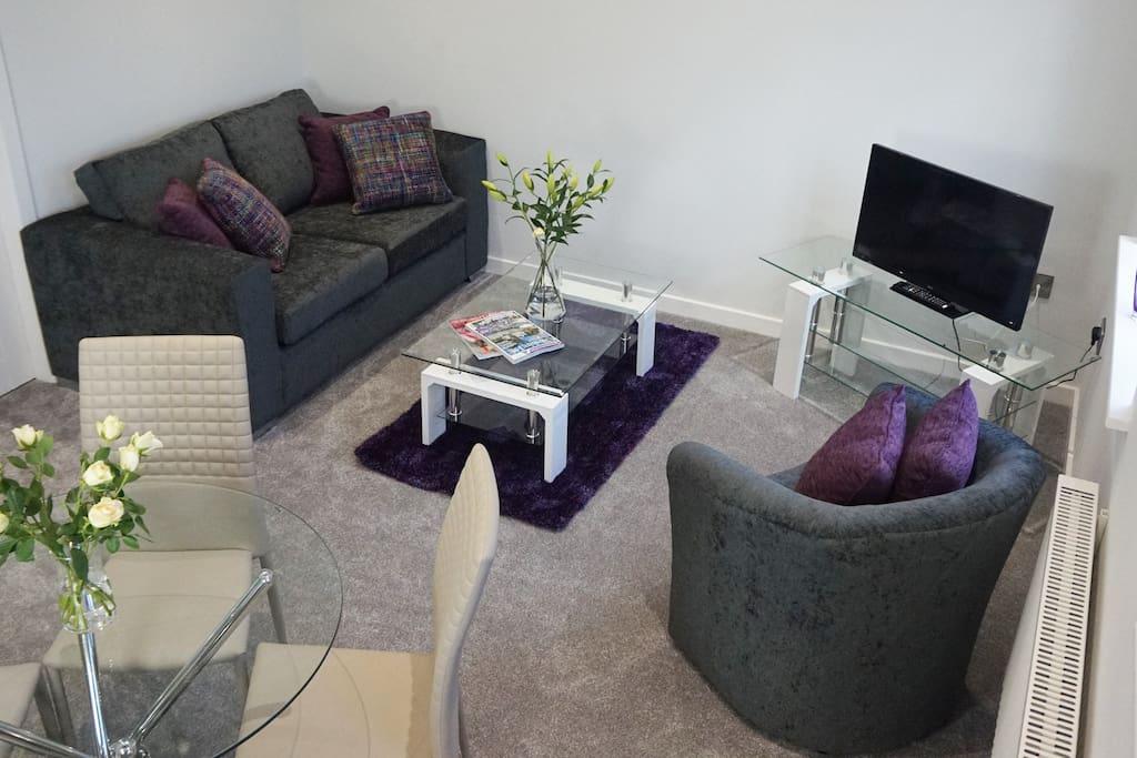 B   Alderley Apartment Living Area One
