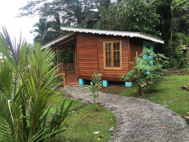 Casa caribeña ubicada frente al mar