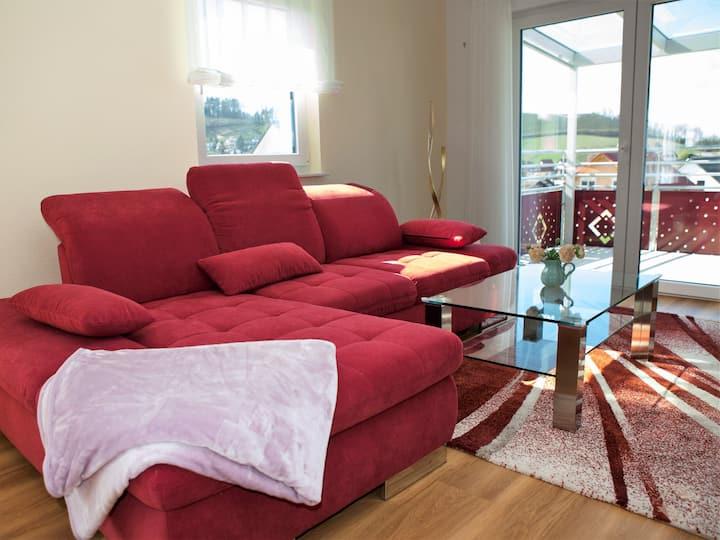 Ferienwohnung Aurelia, (Kappelrodeck), Ferienwohnung, 167qm, Balkonterrasse, 3 Schlafzimmer, max. 6 Personen