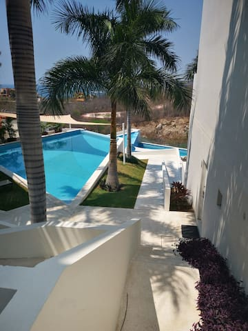 Huatulco, Oaxaca - SEA VIEW LOFT / BIG Apartment