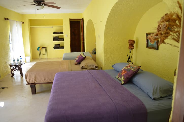 Private room close to Uxmal, Muna,Merida and Ticul