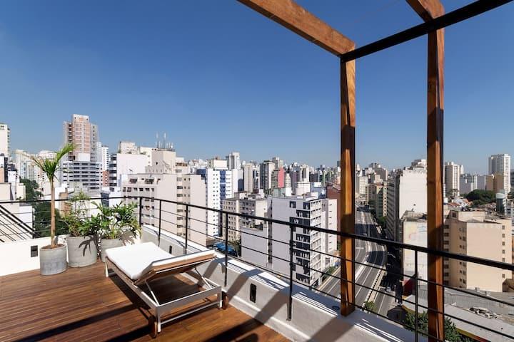 Sao009 - Penthouse in Barra Funda
