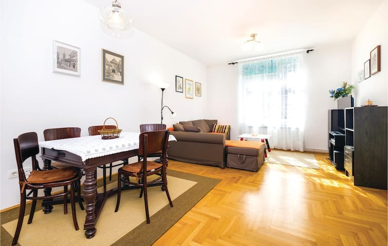 Cozy holiday apartment for 4 persons in Zagreb