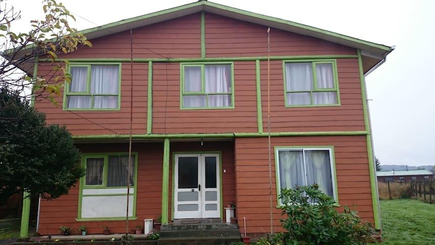 Habitación doble a pasos terminal Villarrica