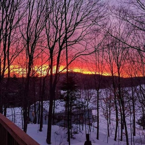 Amazing sunset. It doesn't get any better.