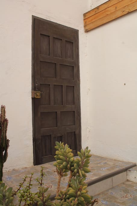 Separater Eingang für Gäste in die Finca
