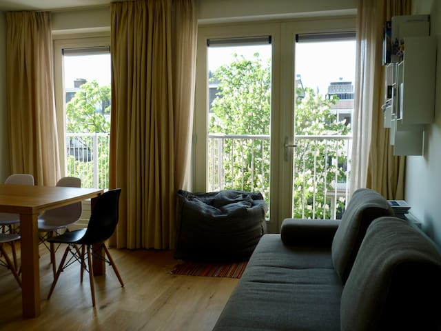 Beautiful & comfortable apartment next to Amstel!