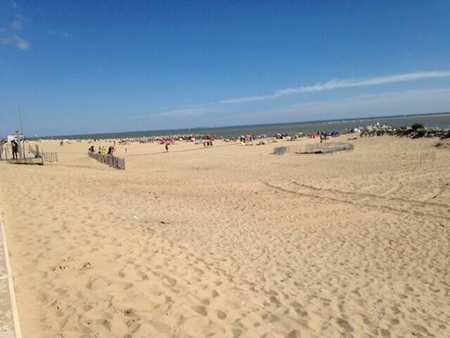 Les plages de La Palmyre