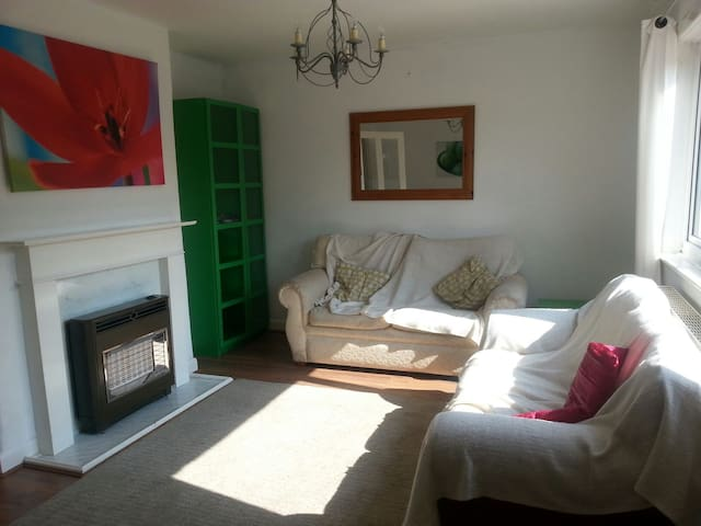 Quiet House between airport & city - Manchester - Hus