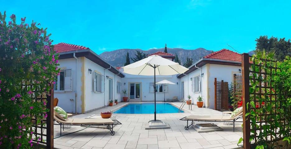 """Lemon Villa"" Exclusive, Private Pool & Gardens"