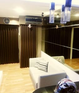 Modern & minimalist interior design 2BR Apartment