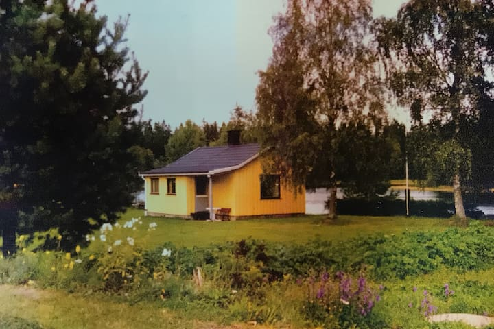 Private cottage right by the lake - Halden - Rumah