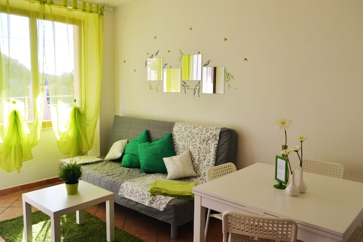 Grazioso appartamento con giardino