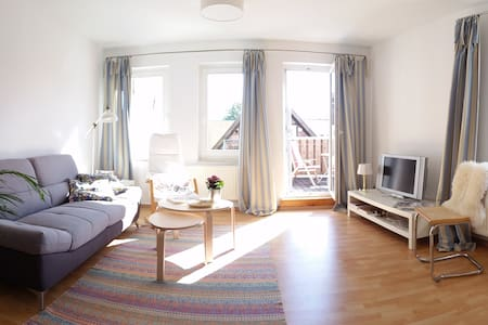 Sunny and quiet maisonette flat in old town centre - Güstrow
