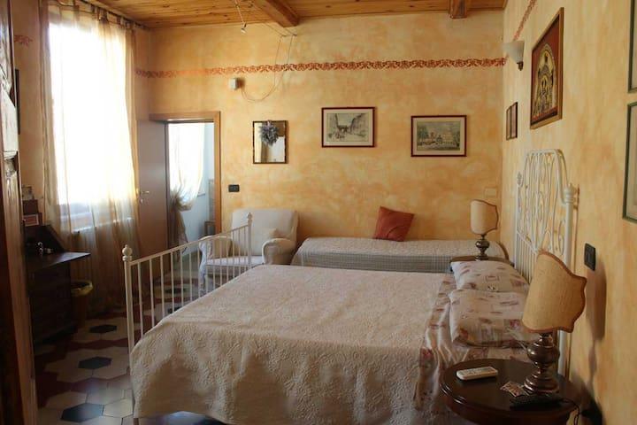 Nel centro storico di un Borgo più bello d'Italia