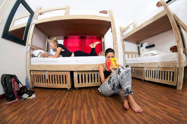 Bed in Female-only 4-bed Dorm