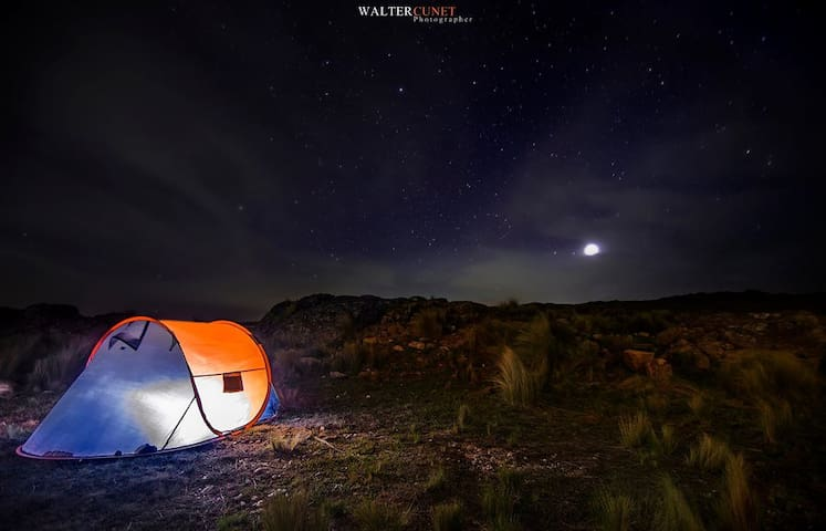 Camping and sightseeing  visit  of Tunisia