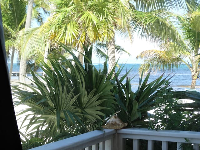 Beach front, fully equipped, for up to 4 (19B)!