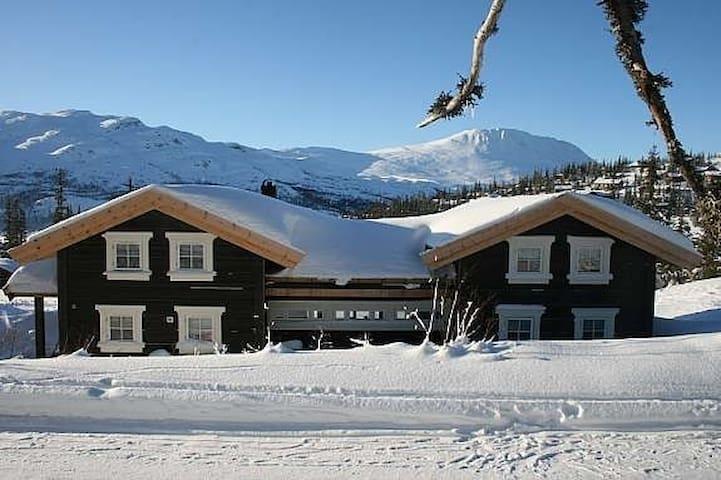 Romslig hytte ved Gaustatoppen - Rjukan - Blockhütte