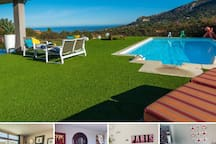 Mare Monti house, high quality fittings,great view