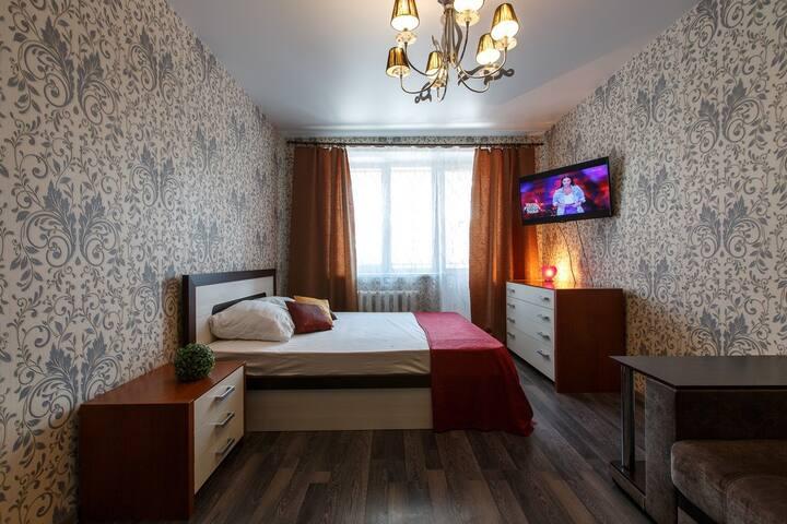 Однокомнатная квартира, Комсомольская 7