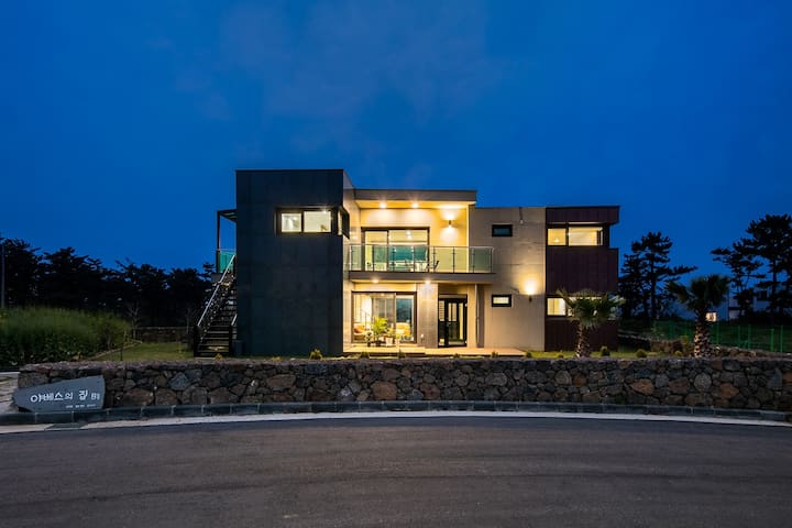 협재 바다와 비양도가 내려다보이는 펜션(25평), 야베스의 집 B동