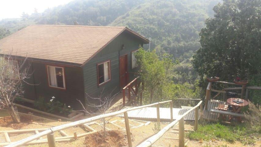 Cabaña en Tunquén, Condominio Campomar.
