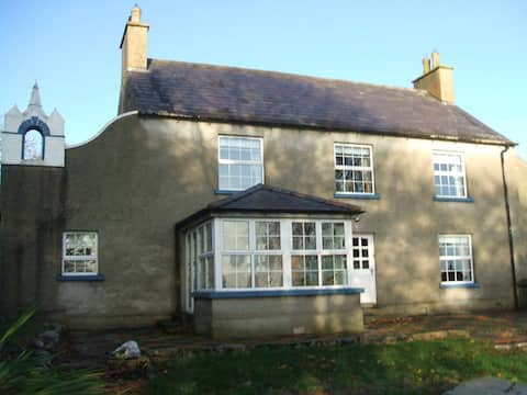 Country house with views over the Derg Valley