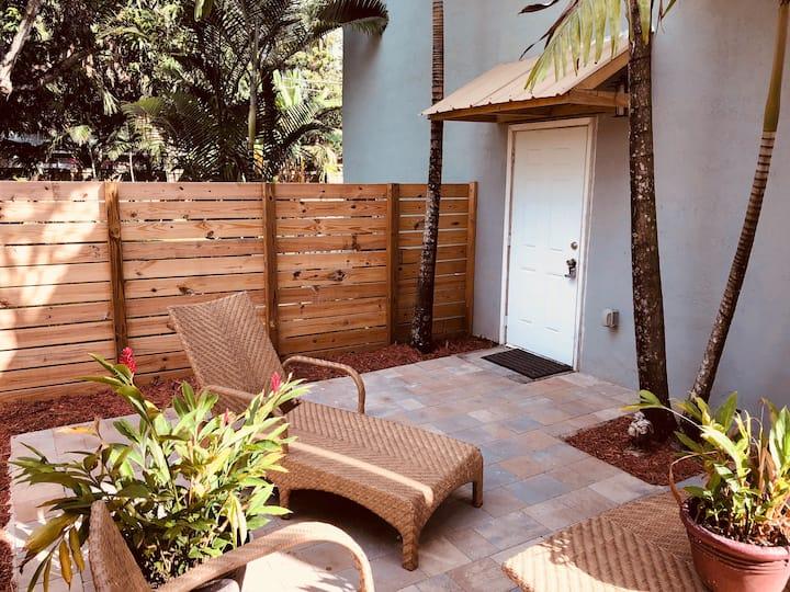 Beautiful Studio in South Miami-Near Shops & UM