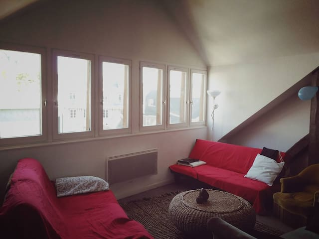 Hyper-center, cosy and typical charm of Rouen - Rouen - Appartement