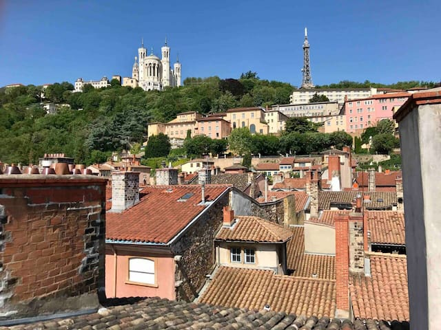 Jolie chambre vieux Lyon