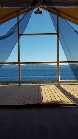 Seaside Glamping luxury tent for 4+1