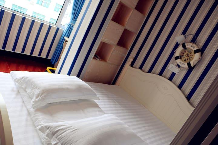 海军风无烟房-阳光小筑403 - Jinhua - Apartment
