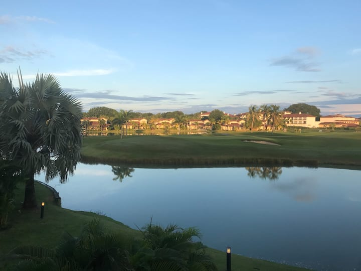 Ocean lake Golf Villa at Buenaventura Panama