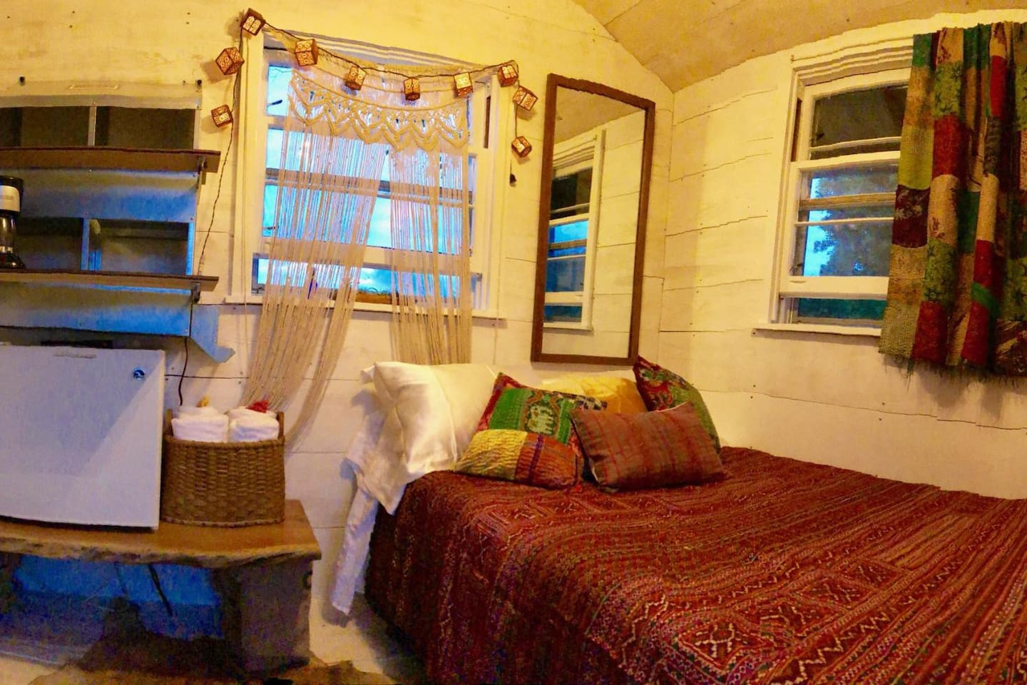 The Suite Roost, a tiny  refurbished chicken coop!