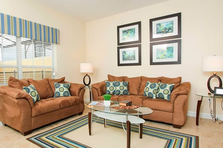 Majesty 4 bed Townhouse by: Viporlando - Kissimmee - Dom