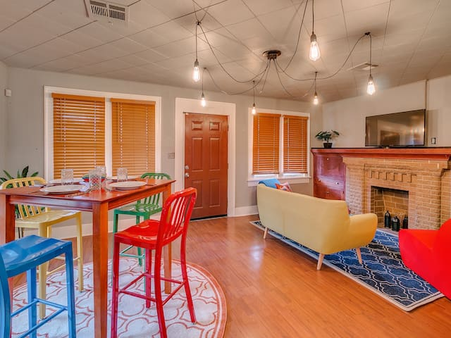 Vibrant 2Bd/1Ba in Central Park, near Paseo - Oklahoma City - Haus