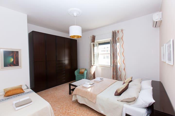 Intero appartamento (65m2) vicino aeroporto e mare