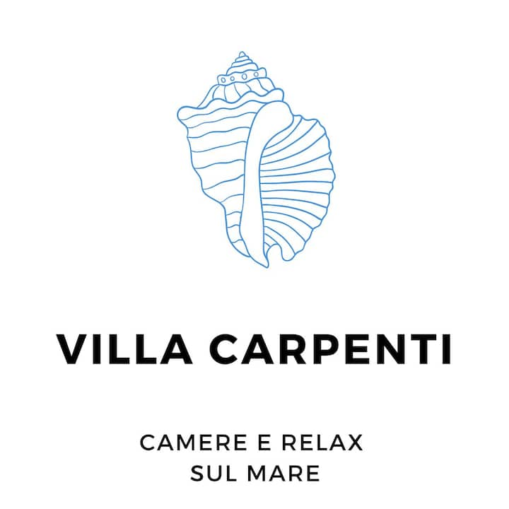 VILLA CARPENTI ♡ CAMERA VISTA MARE - SEAVIEW ROOM