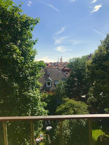 Romantische Atelierwohnung im Herzen von Schwabing