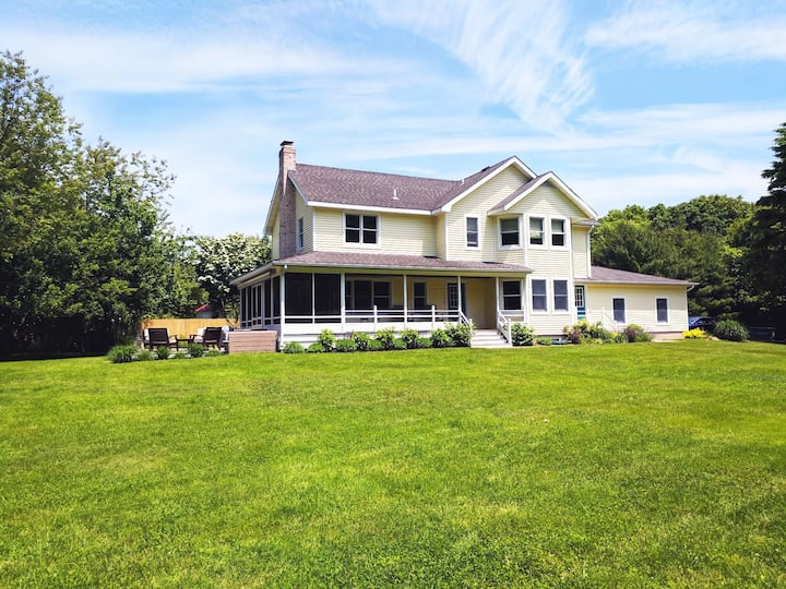 North Fork Farm House by the Water