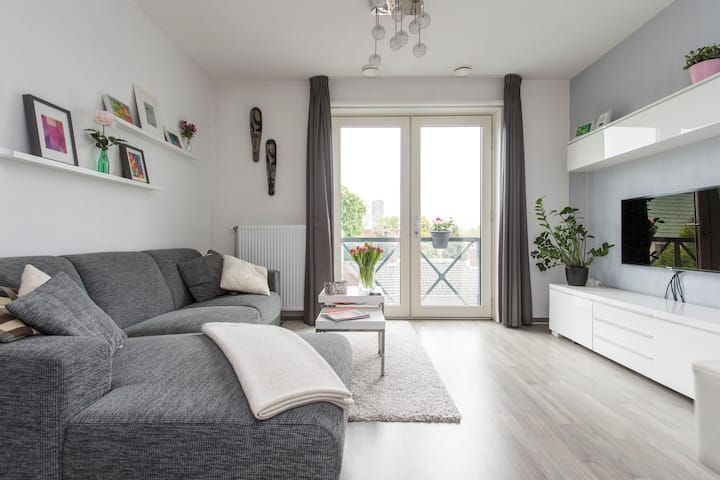 Cosy and modern apartment Tilburg city
