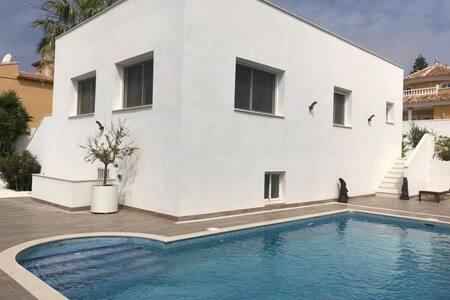 le calme en villa privée moderne