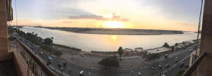 Available room in an apartment with a Nile View!