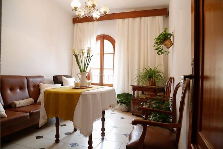 Apartamento CENTRICO, LUMINOSO(75m2)+TERRAZA(75m2) - Arcos de la Frontera - Departamento