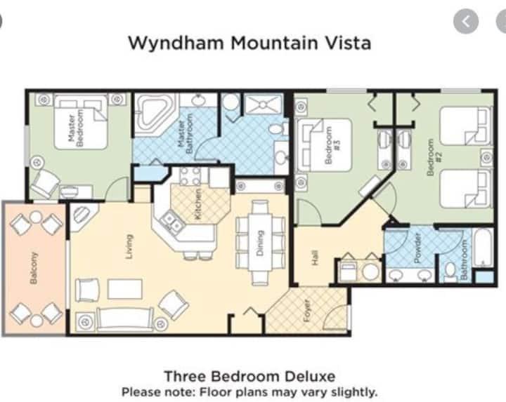 Wyndham Branson Mountain Vista 3Br Deluxe