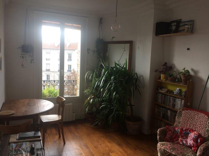 Appartement lumineux Pantin