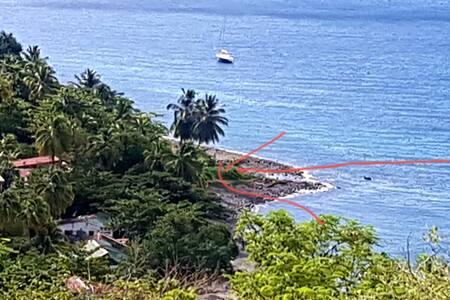 Jolie Maison  Sur La Plage Face à la mer - 3 ch
